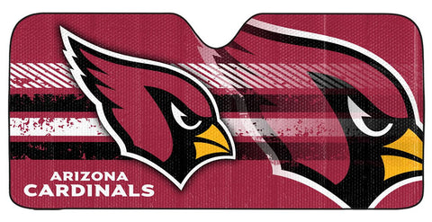 Arizona Cardinals Auto Sun Shade 59x27""