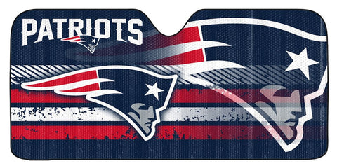 New England Patriots Auto Sun Shade 59x27""