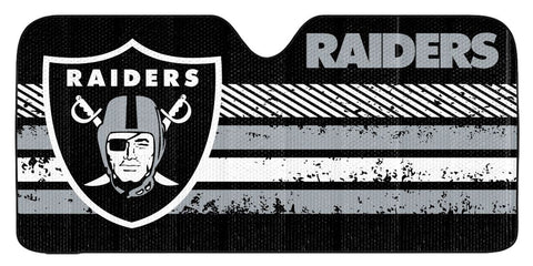 Oakland Raiders Auto Sun Shade 59x27""