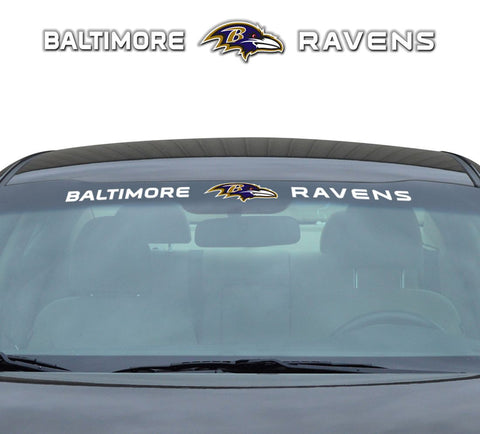 Baltimore Ravens Windshield Decal 35x4""