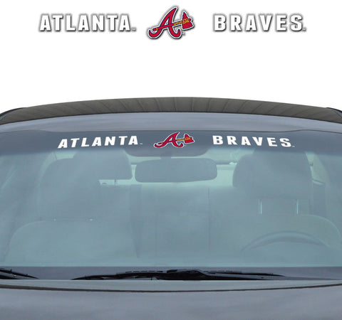 Atlanta Braves Windshield Decal 35x4""