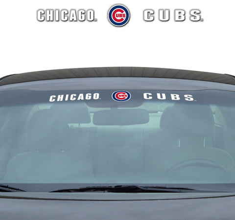 Chicago Cubs Decal 35x4 Windshield