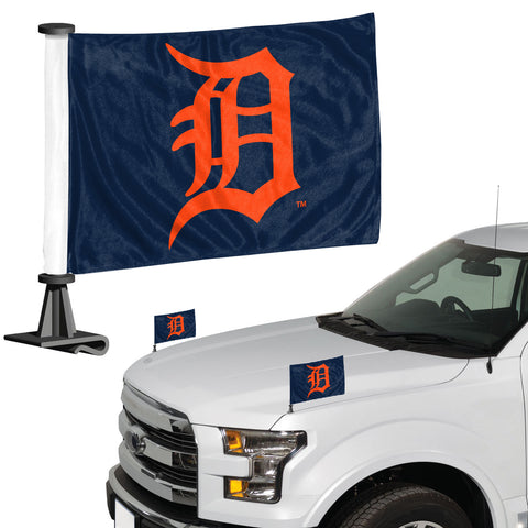 Detroit Tigers Ambassador Style 2 Piece Flag Set