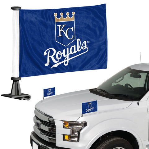 Kansas City Royals Ambassador Style 2 Piece Flag Set