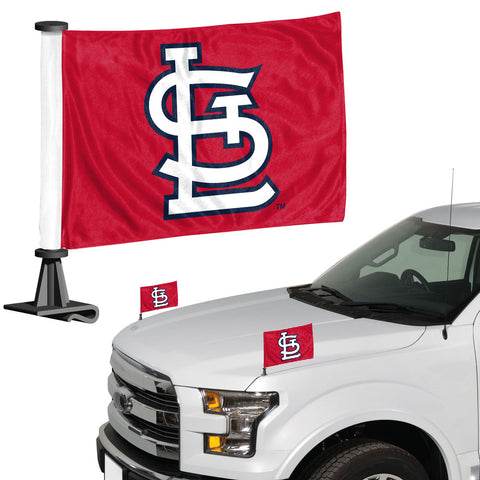 St. Louis Cardinals Ambassador Style 2 Piece Flag Set