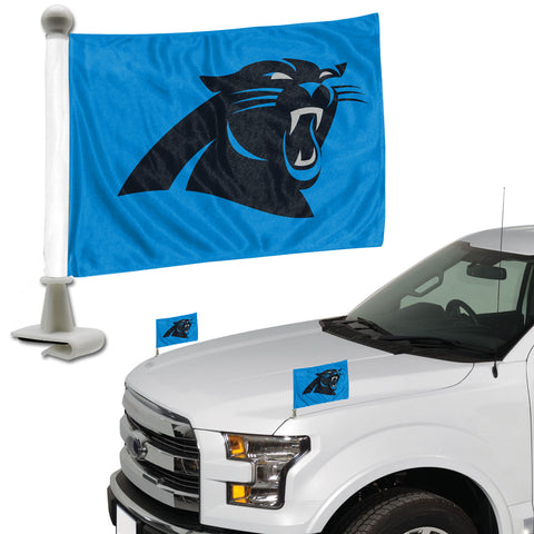 Carolina Panthers Ambassador Style 2 Piece Flag Set