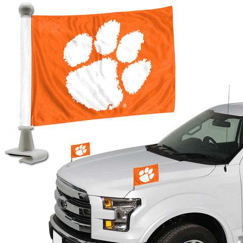 Clemson Tigers Ambassador Style 2 Piece Flag Set