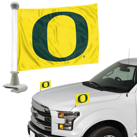 Oregon Ducks Ambassador Style 2 Piece Flag Set