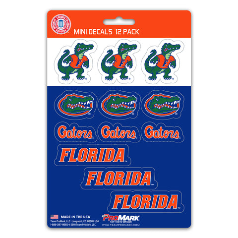 Florida Gators 12 Pack Decal Set