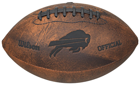 "Buffalo Bills Vintage Throwback 9"" Football"