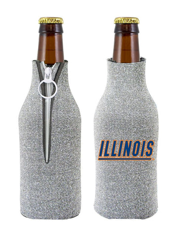 Illinois Fighting Illini Bottle Suit Holder - Glitter