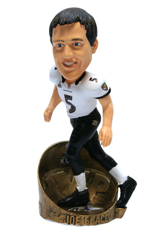 Baltimore Ravens Joe Flacco Super Bowl 47 MVP Bobblehead