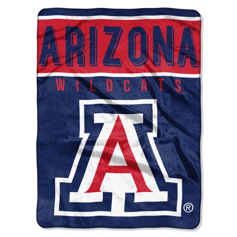 Arizona Wildcats Raschel Basic Design Blanket 60x80""