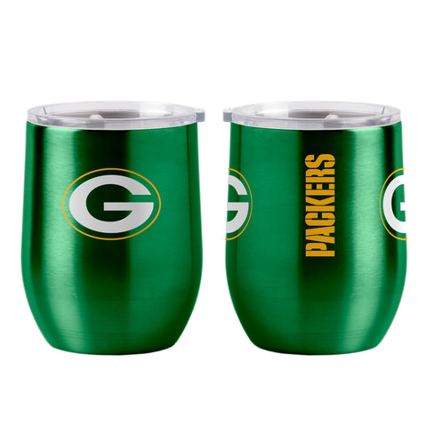 Green Bay Packers 16oz Ultra Curved Travel Tumbler