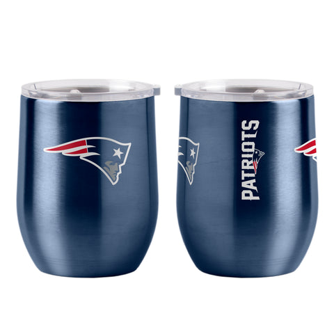 New England Patriots 16oz Ultra Curved Travel Tumbler