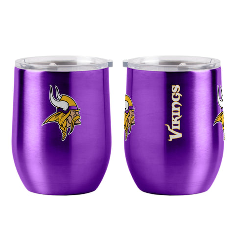 Minnesota Vikings 16oz Ultra Curved Travel Tumbler