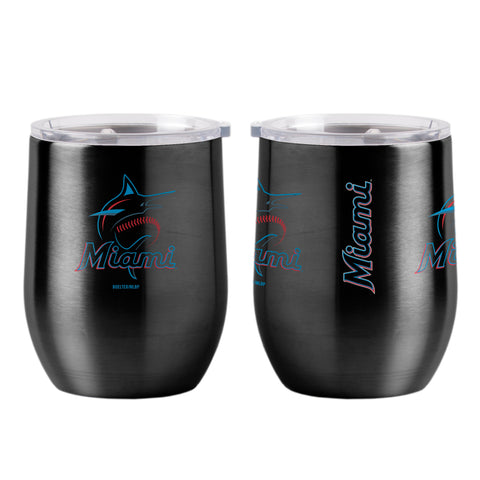 Miami Marlins 16oz Ultra Curved Travel Tumbler