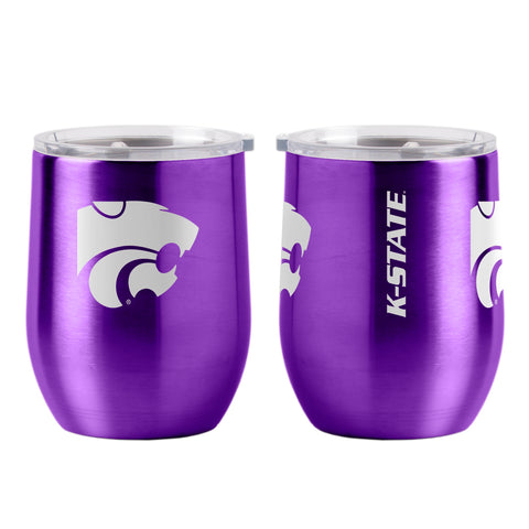 Kansas State Wildcats 16oz Ultra Curved Travel Tumbler