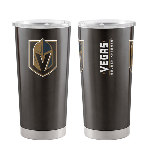 Vegas Golden Knights Travel Tumbler 20oz Ultra Black