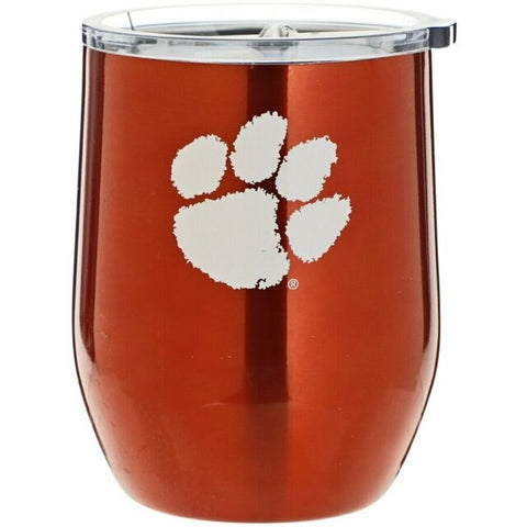 Clemson Tigers 16oz Ultra Curved Travel Tumbler
