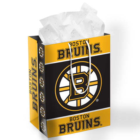Boston Bruins Medium Size Gift Bag