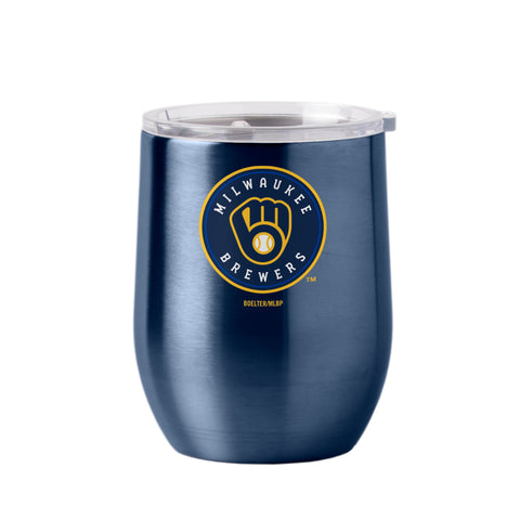 Milwaukee Brewers 16oz Ultra Curved Travel Tumbler
