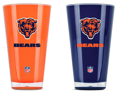 Chicago Bears Tumblers - Set of 2 (20 oz)