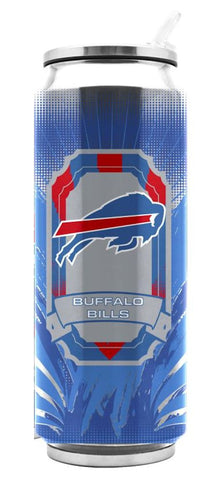 Buffalo Bills Stainless Steel Thermo Can - 16.9 ounces