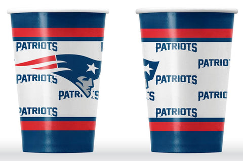 New England Patriots Disposable Cups Set