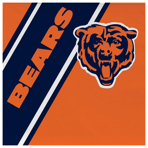 Chicago Bears Disposable Napkins