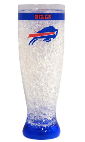 Buffalo Bills Crystal Freezer Pilsner Glass