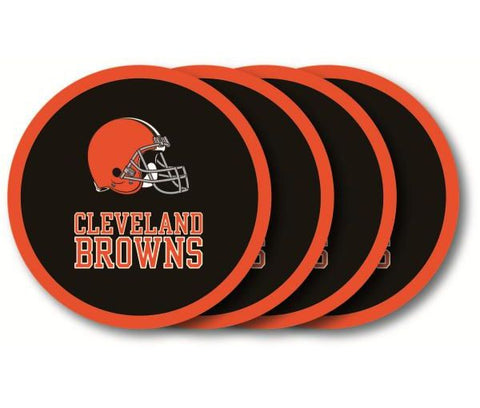 Cleveland Browns 4 Pack Coaster Set