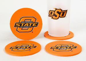 Oklahoma State Cowboys Coaster Set
