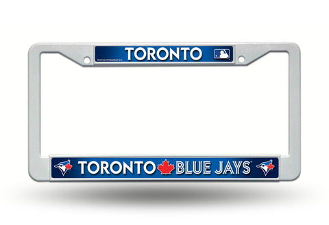 Toronto Blue Jays Chrome License Plate Frame