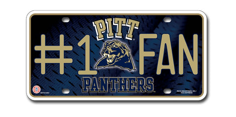 Pittsburgh Panthers License Plate - #1 Fan