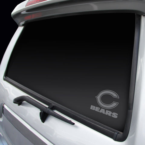 Chicago Bears Decal Chrome Window Graphic