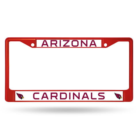 Arizona Cardinals Red Metal License Plate Frame