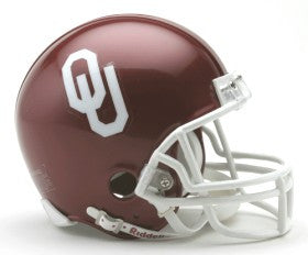 Oklahoma Sooners Replica Mini Helmet w/ Z2B Mask