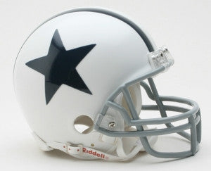 Dallas Cowboys 1960-63 Throwback Mini Helmet