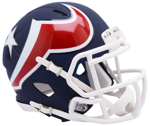 Houston Texans Alternate AMP Riddell Mini Speed Helmet