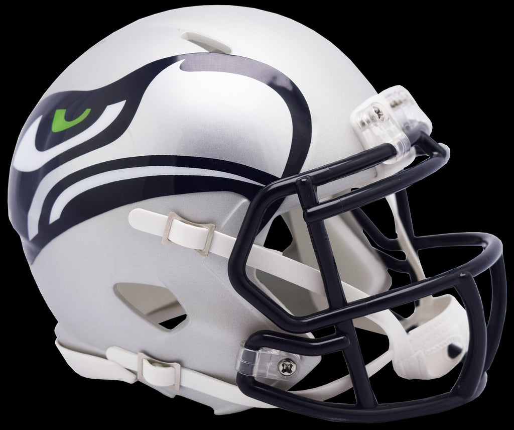 Seattle Seahawks Alternate Amp Riddell Mini Speed Helmet