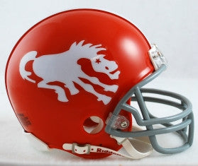 Denver Broncos 1962-65 Throwback Mini Helmet