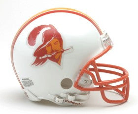 Tampa Bay Buccaneers 1976-96 Throwback Mini Helmet