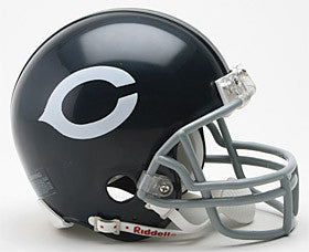 Chicago Bears 1962-73 Throwback Mini Helmet