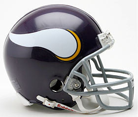Minnesota Vikings 1961-79 Throwback Mini Helmet