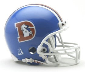 Denver Broncos 1975-96 Throwback Mini Helmet