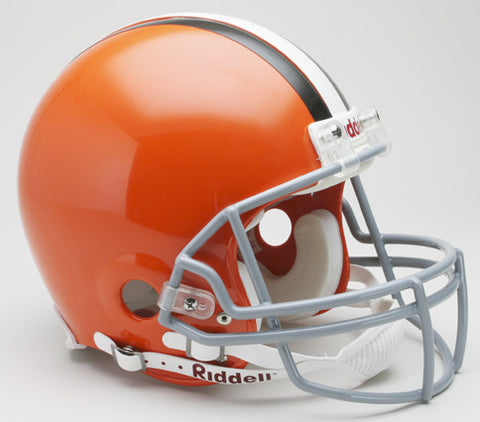 Cleveland Browns 2006-14 Riddell Throwback Pro Line Helmet