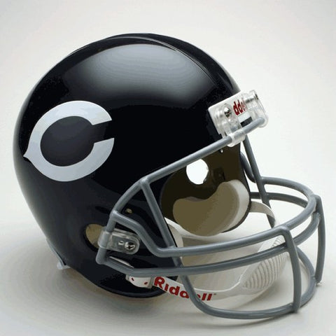 Chicago Bears 1962-73 Riddell Deluxe Replica Full Size Helmet