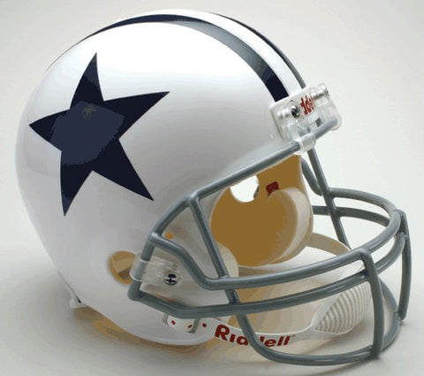 Dallas Cowboys 1960-63 Riddell Deluxe Replica Full Size Helmet