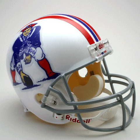 New England Patriots 1965-81 Riddell Deluxe Replica Full Size Helmet
